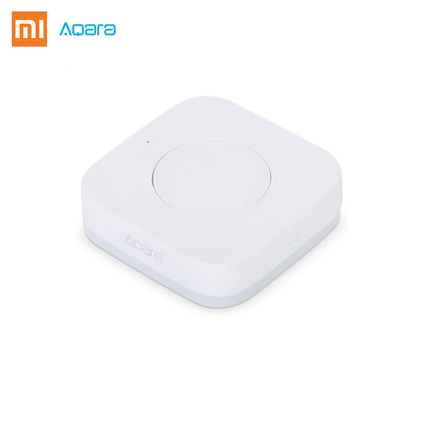 2017 Xiaomi Aqara Smart Multi-Functional Intelligent Wireless Switch Key Built In Gyro Function Work With Android IOS Mijia APP