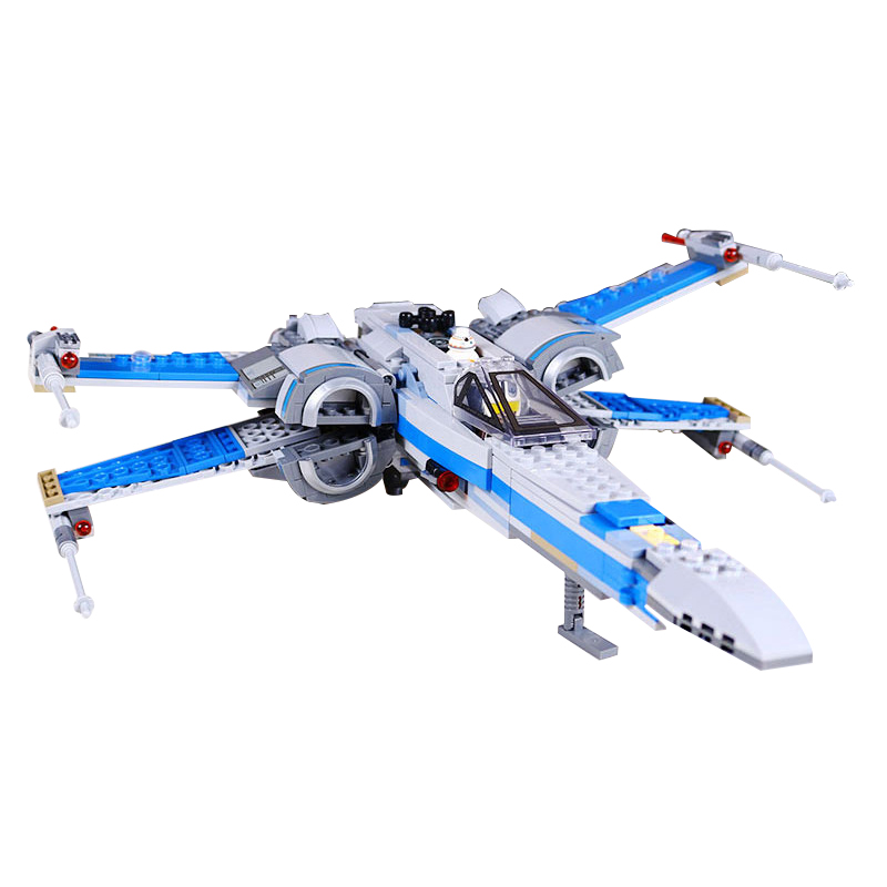 Lepin 05029 Building Blocks Bricks Star Wars 05004 First Order Poe's X Wing Fighter Compatible Legoed 75102 Toys Children Gifts new 1685pcs lepin 05036 1685pcs star series tie building fighter educational blocks bricks toys compatible with 75095 wars
