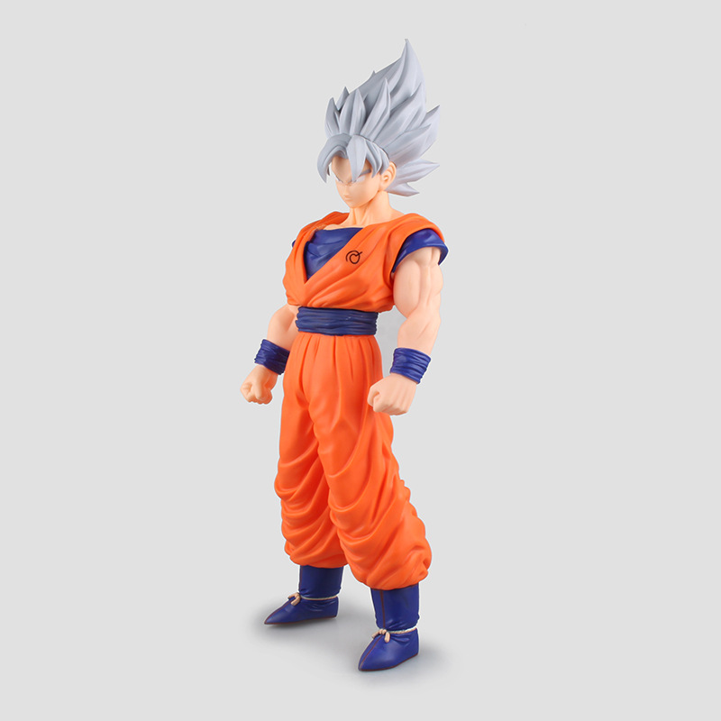 1 Pcs Anime Dragon Ball Z Toy Figure Super Saiyan Goku PVC Action Figures Big Size Dragonball Model Toys For Boys Kids Wholesale anime dragon ball z son goku action figure super saiyan god blue hair goku 25cm dragonball collectible model toy doll figuras