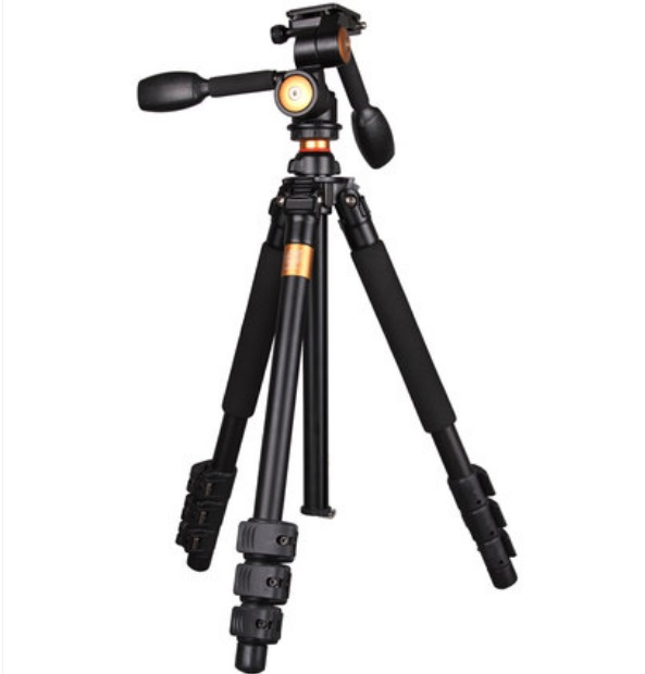 free shipping DHL Q470 SLR camera tripod with three- dimensional head &video recorder tripod for Nikon load is 10kg dhl gopro benro a550fhd2 urban elf kit aluminum tripod three dimensional head camera tripod