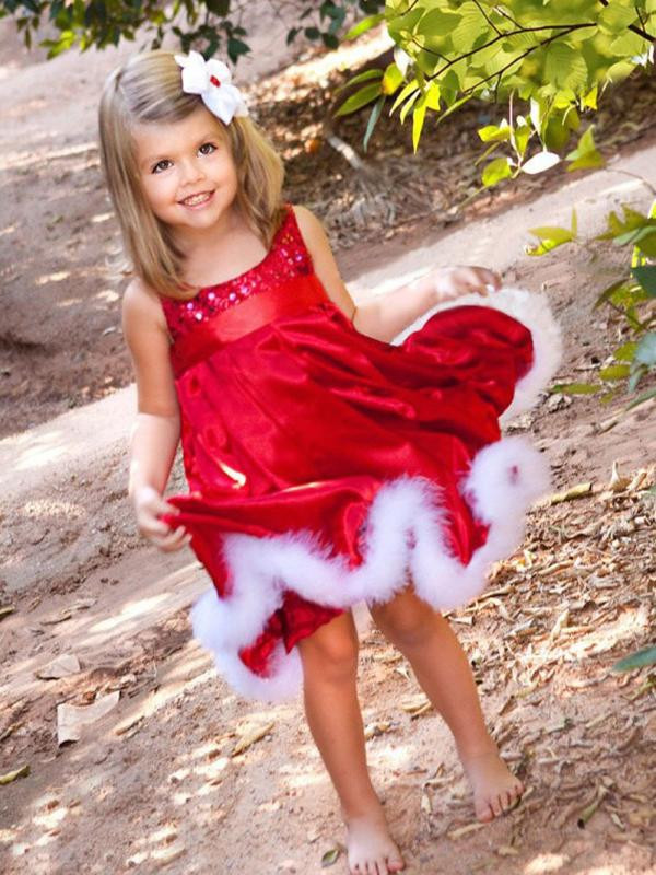 1bd058cfc8068 Detail Feedback Questions about ARLONEET Christmas girls dress gala dresses  Baby Girls Kids Party Red Paillette Tutu Dresses Xmas Gift L1122 on ...