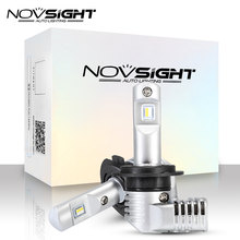 1:1 DESIGN NOVSIGHT H7 led H11 H16JP 9005 9006 9012 D1 P13 PSX24W PSX26W Car Led Headlights 10000LM Play and Plug Fog Light(China)