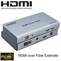 HDMI over Fiber Extender up to 20KM 1080P audio video Transmission Support multipoint to multipoint With IR HDMI1.3/HDCP1.1&1.2