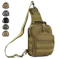 New Universal Outdoor Tactical Military Multi Purpose Versatile Molle Bag Pocket Case Pack With Removable Strap