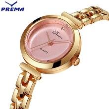 PREMA Quartz Women Watches Bracelet Rose Gold Luxury Brand Montre Femme England Lady Wrist Watch Relogio Feminino Waterproof