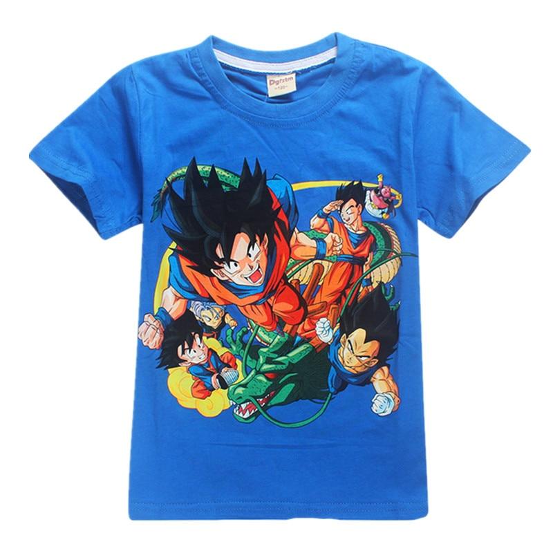 39aa72422755 Παιδικά μπλουζάκια T-shirts Μπλούζες για παιδιά Dragon Ball 2018 ...