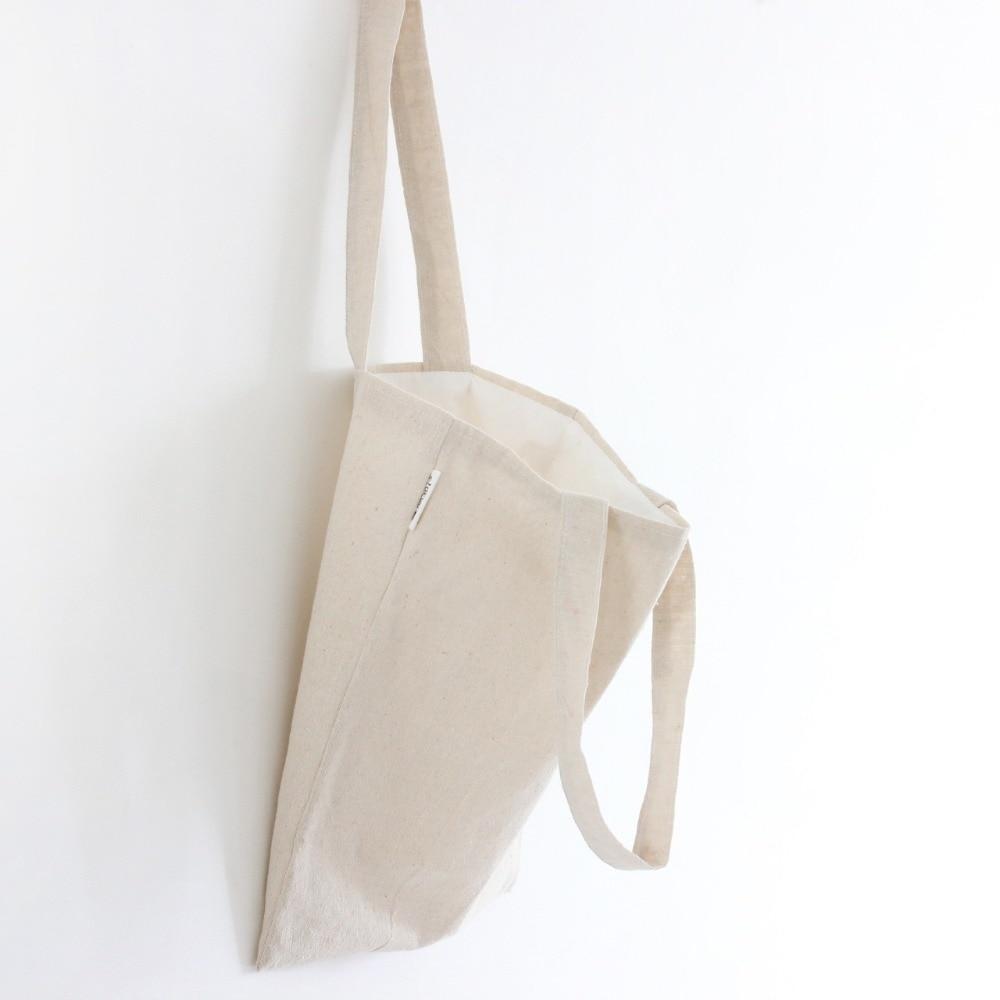 Popular Linen White Shopping Bag-Buy Cheap Linen White Shopping ...