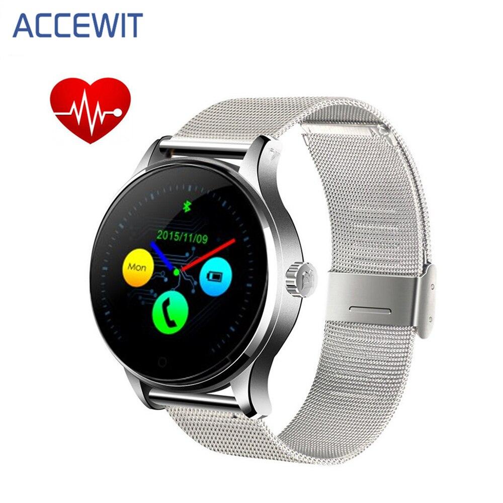 D'origine K88H Montre Smart Watch Piste Montre-Bracelet MTK2502 Bluetooth Smartwatch Moniteur de Fréquence Cardiaque Podomètre Numérotation Pour Android IOS