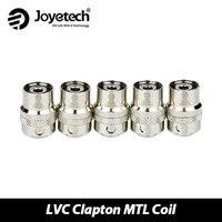 Original Joyetech LVC Clapton MTL Head 1 5ohm Coil Resistancefor CUBIS CUBIS Pro EGO AIO Atomizer