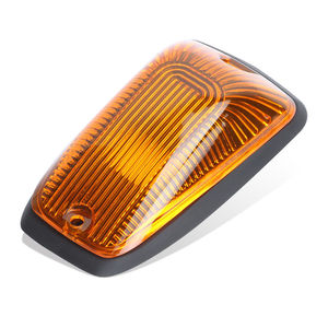 Image 5 - KEYECU 5pcs Cab Roof Running Marker light Amber Cover For 1988 2002 Chevy GMC Direct Replacement for fast feet or curved roofs
