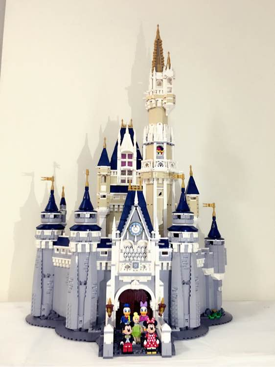 Lepin 16008 Creator Cinderella Princess Castle City 4080Pcs Model Building Minifigures Block Kid Toys Gift Compatible