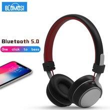 Беспроводные наушники Bluetooth 5,0 гарнитура высокого качества стерео музыкальные наушники с басами и мягкими наушниками для смартфона
