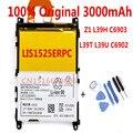 Original high Capacity 3000Mah Battery For Sony L39h Xperia Z1 L39 C6902 C6903 C6943 LIS1525ERPCS Batterie Bateria Batteriej