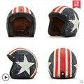 Винтаж галлей мотоциклетный шлем мужской мотоцикл защитный шлем four seasons шлем capacetes motociclismo cascos para заездов