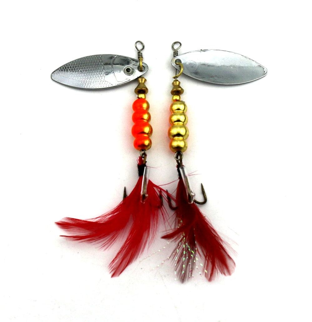 HENGJIA 1PC Sequin isca Artificial feather fishing hook Spoon Fishing lure bait pesca Pike spinnerbait Metal Bass 7.5cm 12g hengjia 10pcs 14g 10cm fishing lures isca artificial bait wobbler carp fishing minnow bass pike lure crankbait trout tackle hook