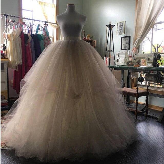 6c5d25f173 Hermosa falda de tul hinchada vestidos de baile de novia para fotografía de  señora falda tutú