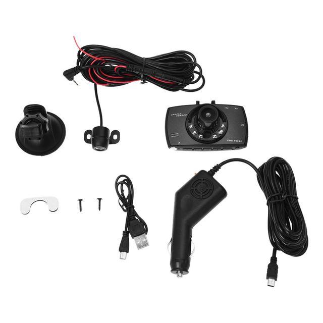 Car DVR Camera Dual Lens 2.7 4