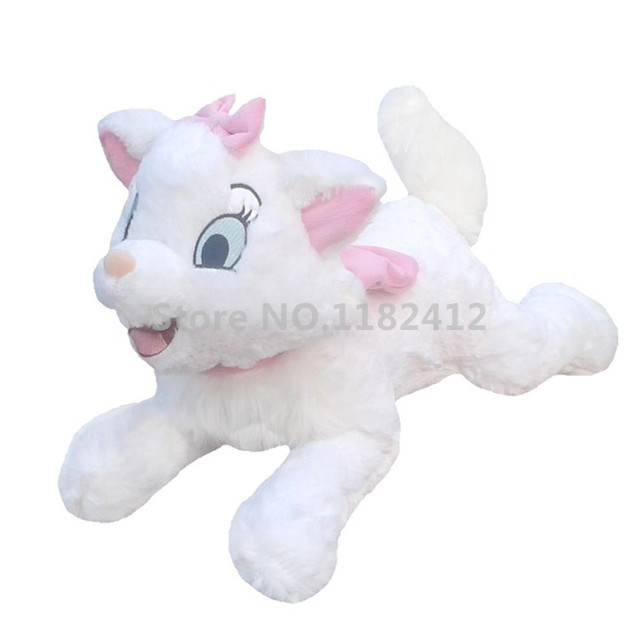 Aristocats Marie Cat Plush Toy Lying 40cm 16 Soft White Cats