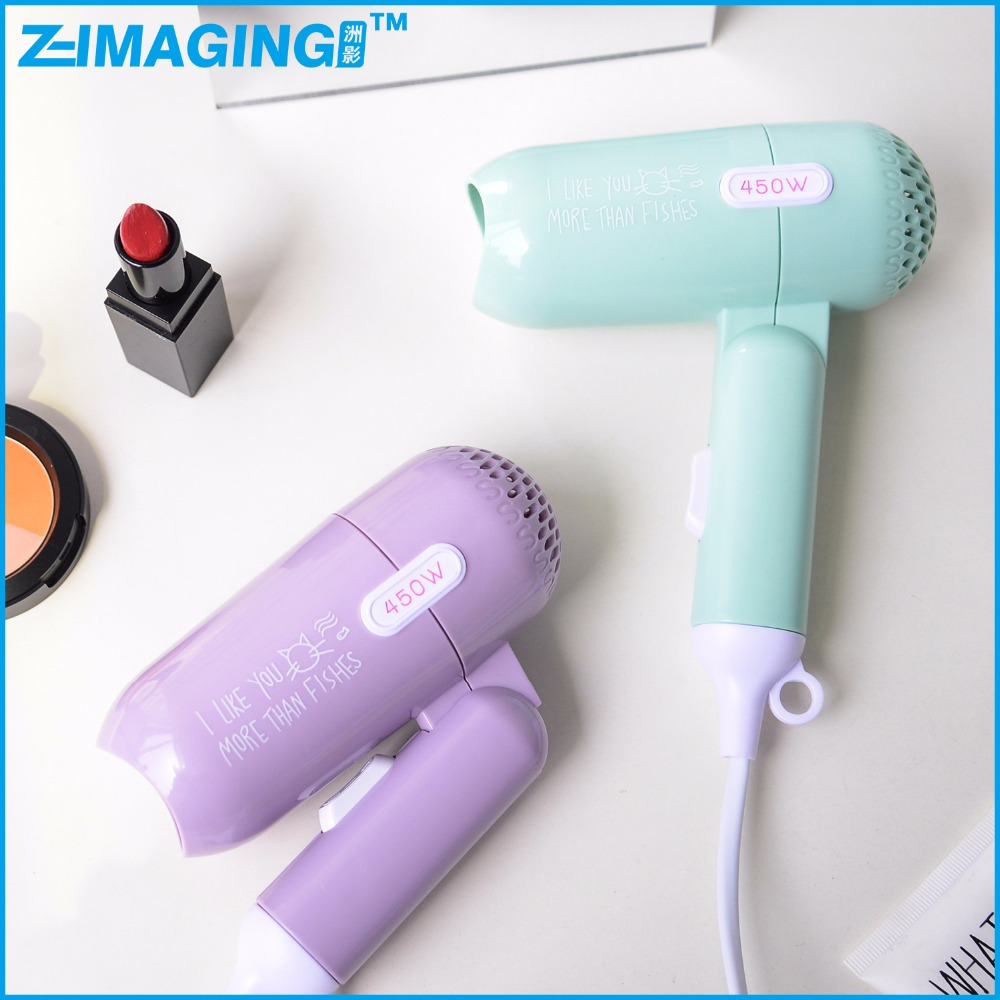portable foldable mini hair dryer seche cheveux super silent electric hair dryer not to hurt the