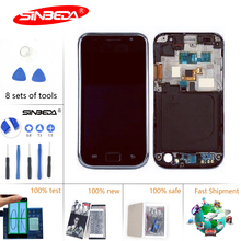 4.0 Sinbeda Super AMOLED For Samsung Galaxy S1 I9000 LCD Display Touch Screen Digitizer Assembly for