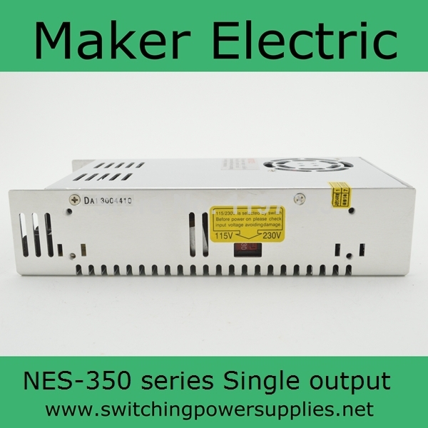 fast delivery power supply  Single output 350w  NES-350-15 original meanwell nes 350 36 ac to dc single output 350w 9 7a 36v mean well power supply nes 350