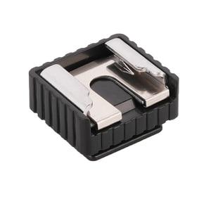 Image 3 - Kaliou U Type 1/4 screw Single Hot Shoe Mount Adapter Flash Light Stand Flash Base Holder Triple Hot Shoe Mount Converter
