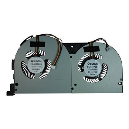 SSEA New Laptop CPU Cooling fan for Lenovo Erazer Y50 Y50-70 Y50-70AM Y50-70AS Fan EG60070S1-C060-S99