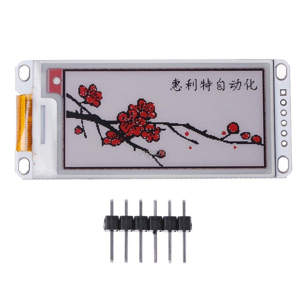 2.13 Inch E-Paper Module E-Ink Display Screen Module Black Red White Color SPI Drop Ship