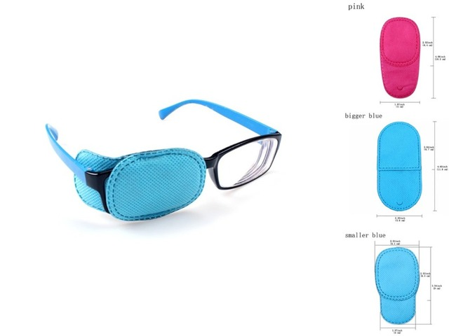 24Pcs Child Occlusion Medical Lazy Eye Patch Eyeshade for Amblyopia Kids Children Boy Gril Wholesale 3 Types
