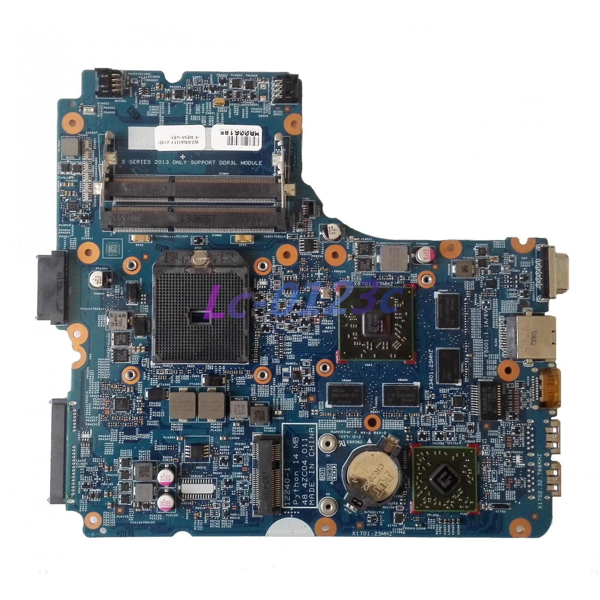 Fulcol для hp PROBOOK 455 G1 Материнская плата ноутбука w/8750 м 2 Гб 48.4ZC04.011 722821-001 722821-501 722821-601 DDR3