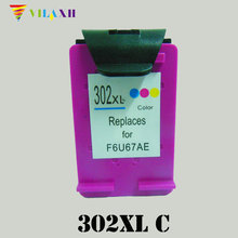 For HP 302 Color Ink Cartridge for HP302 xl 302xl Deskjet 2130 1112 3630 3632 Officejet 4650 4652 4655 ENVY 4516 4520 NS45 xiongcai compatible ink cartridge for hp 302 envy 4520 deskjet 1110 2130 1112 3630 3830 officejet 4650 4652 printer for hp302 xl