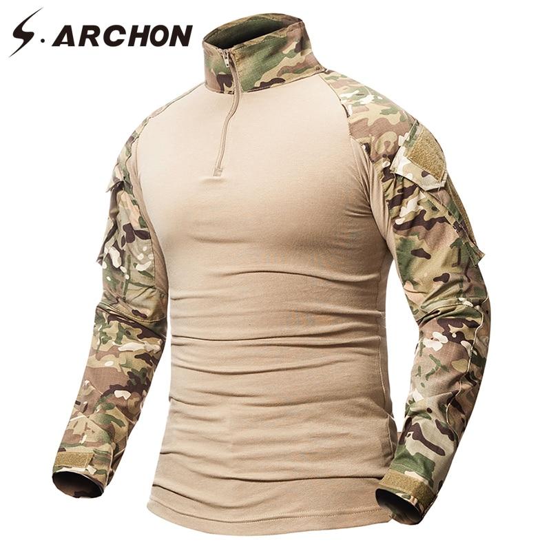 Military Camouflage Shirt Men  2