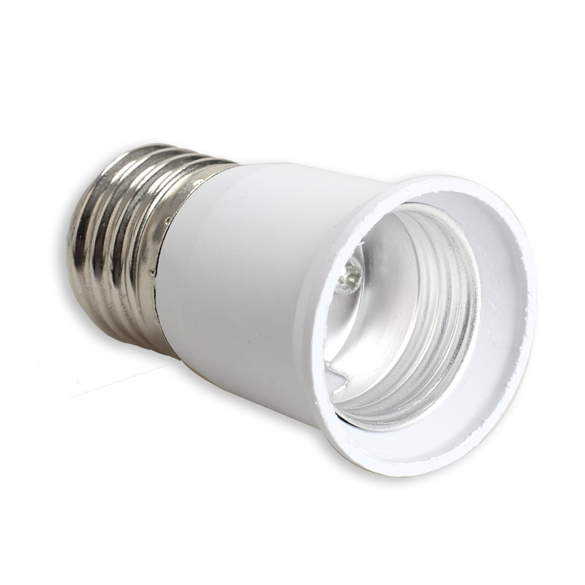 E27 to E27 Extension Base CLF LED Light Bulb Lamp Adapter Socket Converter ALI88