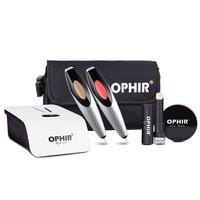 OPHIR Airbrush Makeup Kit Cosmetic Airbrushing Set Airbrush Makeup System Air Foundation Blush Sprayer OP MK004W