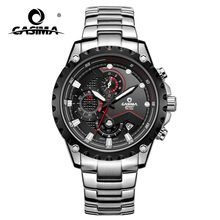 CASIMA watches men sport men's watch is waterproof multi-function timing male money quartz watches casima luxury brand watches men sport top fashion multi function luminous casual men s quartz wrist watch waterproof 100m 8202