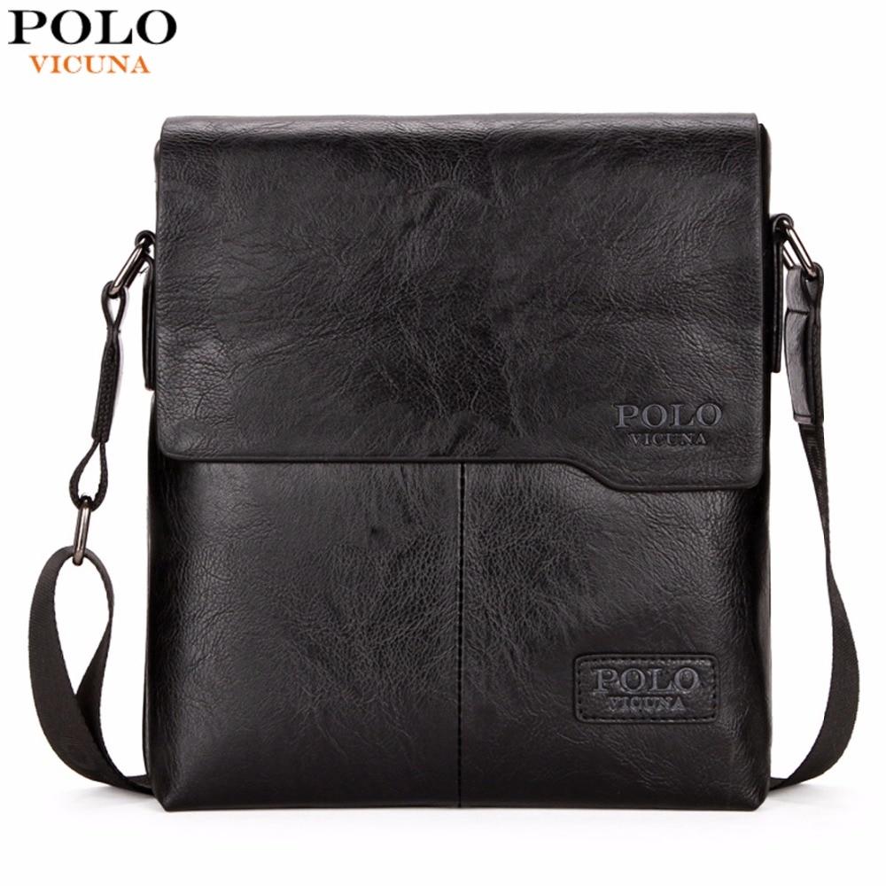VICUNA POLO Vintage Fashion Mens Leather