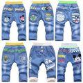 Детская одежда 2015 лето мальчик джинсы для 3-4-5-6-7 год мальчик пятый короткие брюки, дети пиратские шорты мальчик брюки брюки