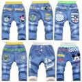 kids clothing 2015 summer boy jeans for 3-4-5-6-7 year boy fifth short pants , kids jeans pirate shorts boy pants trousers