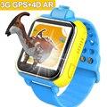 2017 nuevo smart watch kids niños ar 3g wif gps táctil SIM Monitor de Localizador Del Buscador Del Perseguidor Anti Perdido SmartWatch pk q50 q90 q80