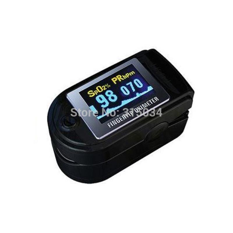 Pulse oximeter FDA approved CMS50D, black, CE, FDA CONTECMED Fingertip oximeter color OLED Portable portable black yellow pink fda