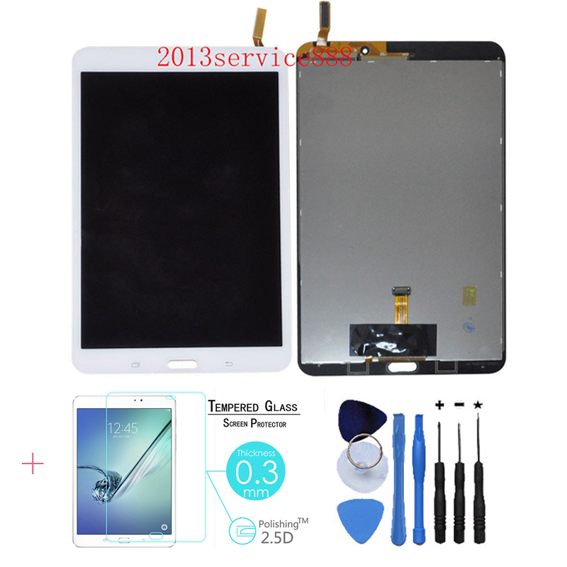 100% Test New LCD Display Touch Screen Digitizer Assembly For Samsung Galaxy Tab 4 8.0 SM-T330 White With Free Tools brand new lcd for samsung galaxy a3 a3000 a300 a300x a300f screen display with touch digitizer assembly