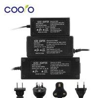 EU/US/UK/AU Power Adaptor 12V 5A/8A/10A Led Power Supply Led Driver Transformer AC100-240V to DC12V  for Led Strip Lights