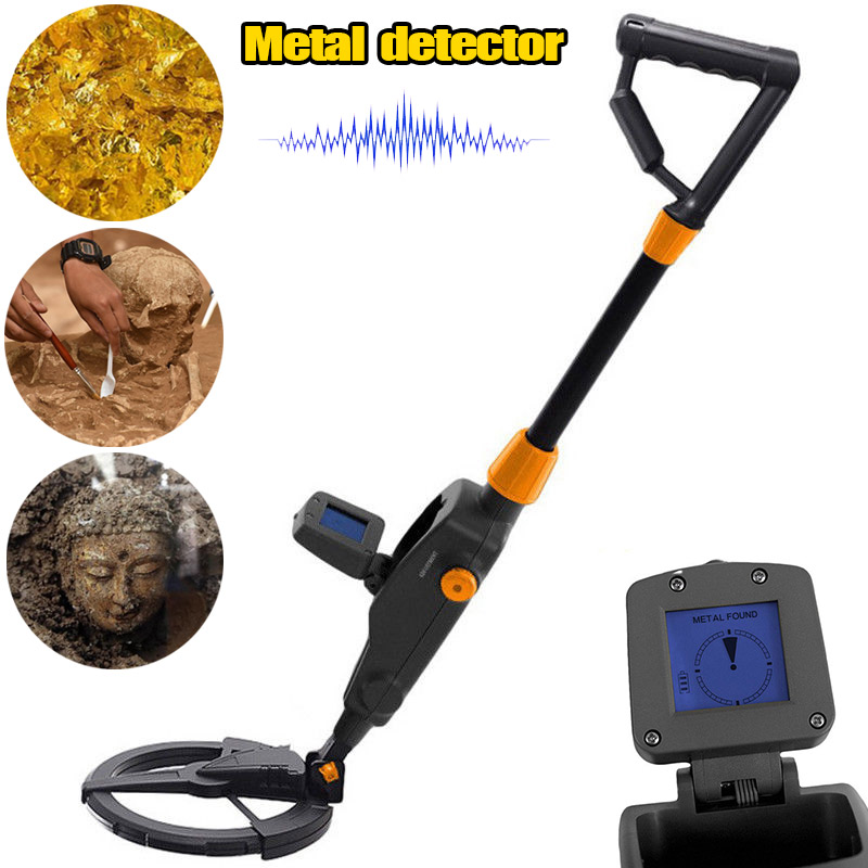 Metal Detector Beach Search Machine Underground Digger with LCD Diaplay --M25 md 1008a black lcd screen metal detector mayitr beach search machine underground gold digger for jewellery metal detection