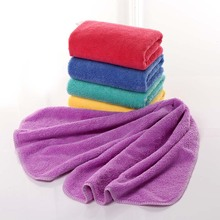 Vieruodis Microfiber Coral Fleece Bathroom Towel Sport Sauna Gym Travel Hand Towels Super Absorbent Soft And Dry