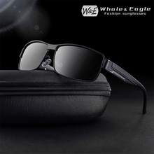 W&E Polarized Sunglasses Classic Small Frame Driving Mens UV400 Ladies Fashion Retro Brand Designer Cool
