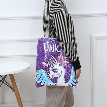 Sequins Unicorn Handbag
