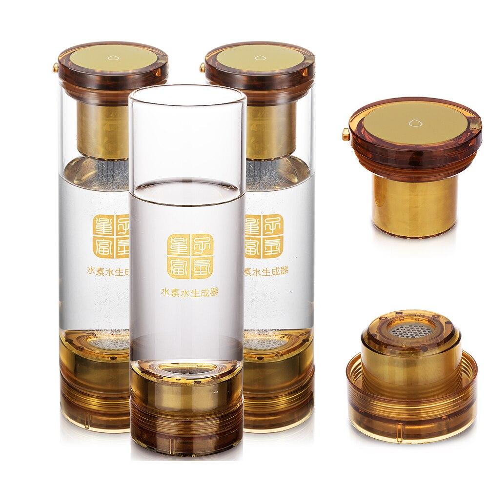 MRET OH and hydrogen generator H2 electrolysis Molecular Resonance Effect Technology Hydrogen rich water bottle