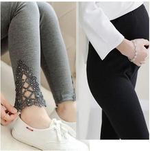 2016 весна и осень одежды для беременных pregant женщин леггинсы и женщины тонкий эластичный хлопок брюки Ш-9338JYF
