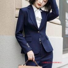 d6d03efad62 Профессиональная одежда женский 2018 Новая мода достойно атмосфера  гражданской платье служанки костюм менеджера костюм женский к.