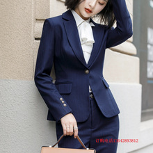c8ccebc91a5 Professional wear female 2019 new fashion dignified atmosphere civil  servant dress manager overalls suit female suit